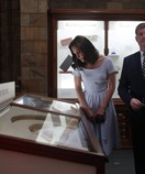 Duchess of Cambridge's 'kob' steals the show while visiting the Natural History Museum