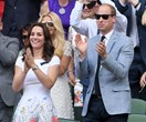 Kate and Wills have a smashing date at Wimbledon
