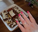 Very brave man uses kebab shop meal to propose to his girlfriend