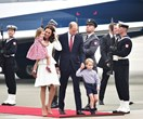 They're here! The Cambridges have landed in Poland
