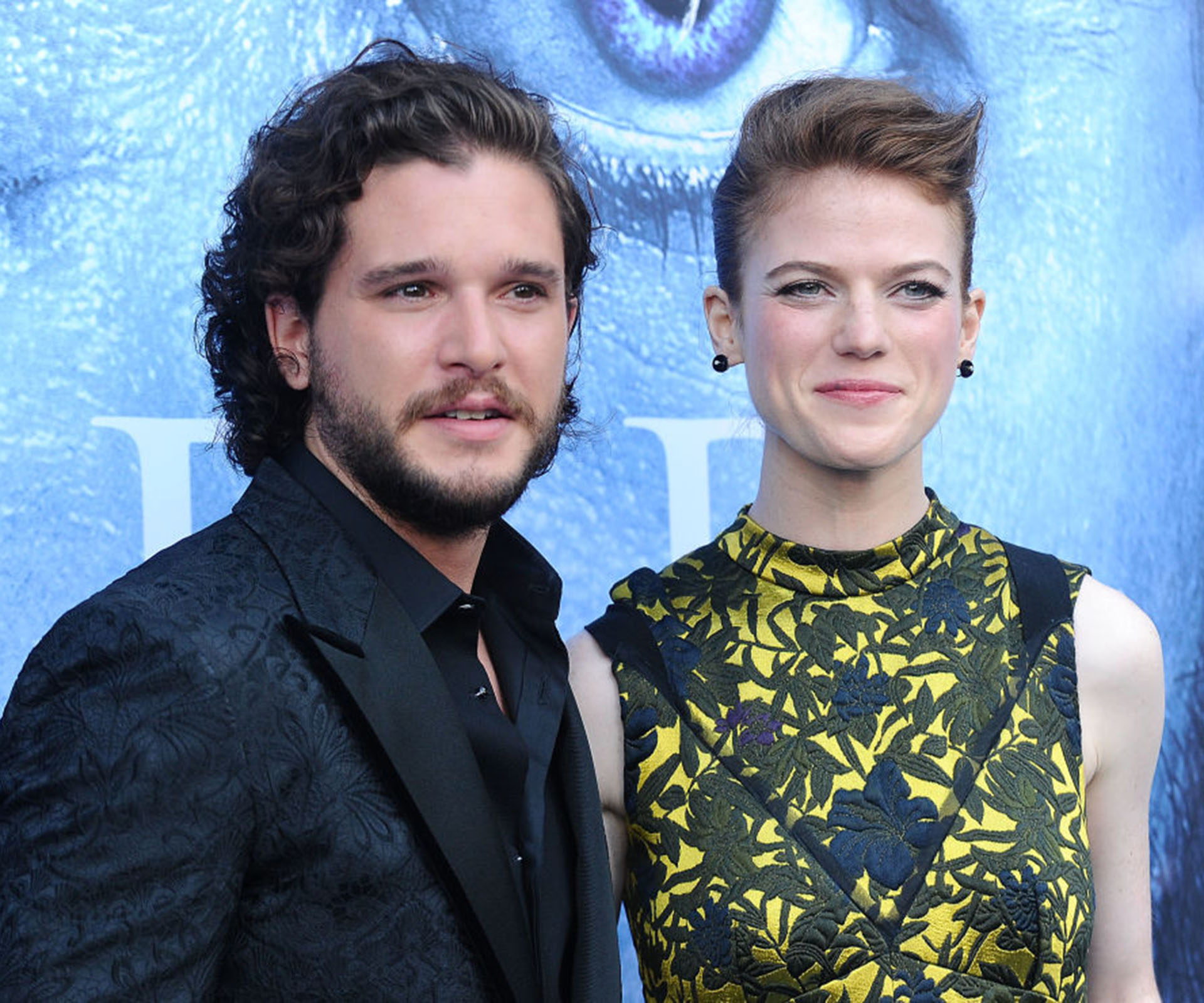 Wait, Are 'Game of Thrones' Stars Kit Harington and Rose Leslie Engaged?