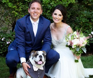 This woman has a dream job dog-sitting at weddings