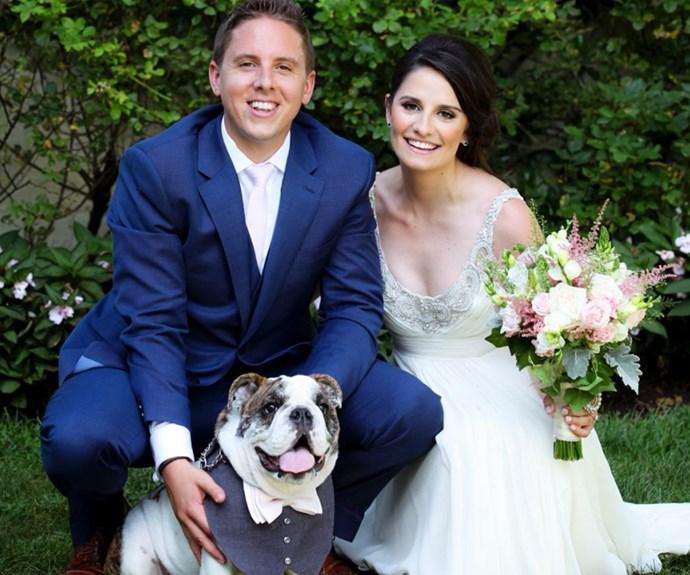 This woman has a dream job dog-sitting at weddings