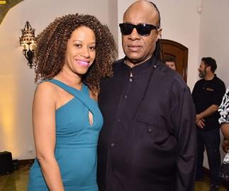 Stevie Wonder and Tomeeka Bracy
