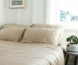These luxury sheets are made from recycled coffee and will help you sleep