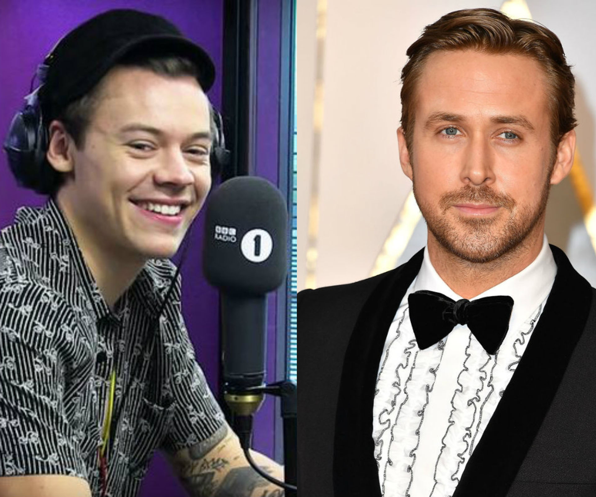 Ryan Gosling Had the Best Response to Making Harry Styles's Heart Race