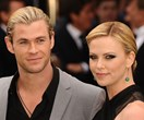 Is Chris Hemsworth smitten with Charlize Theron?!