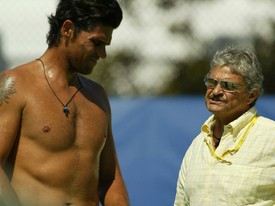 Mark Philippoussis' Dad Arrested By Child Abuse Unit