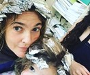 Drew Barrymore praised for this photo of her and daughter Olive with matching foils