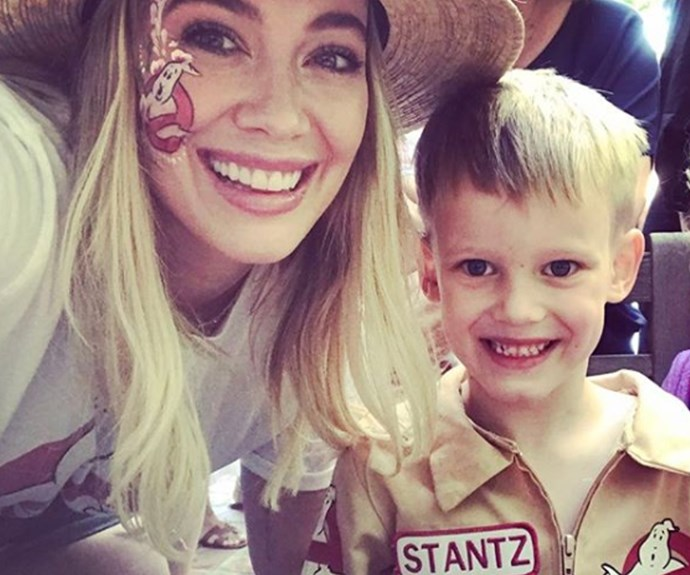 Hilary Duff and Luca Comey