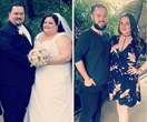 Couple goals! This loved-up pair lost 177kg between them