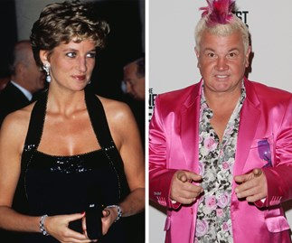 Princess Diana and Darryn Lyons