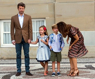 Princess Mary, Prince Frederik, Prince Vincent, Princess Josephine