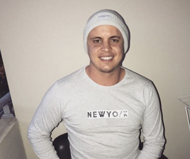 Johnny Ruffo has been diagnosed with brain cancer