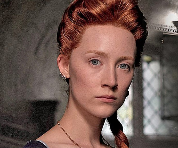 First images of Saoirse Ronan as of Mary Queen of Scots are here and they are fierce!