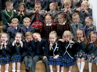 13 sets of twins start school together at the same time