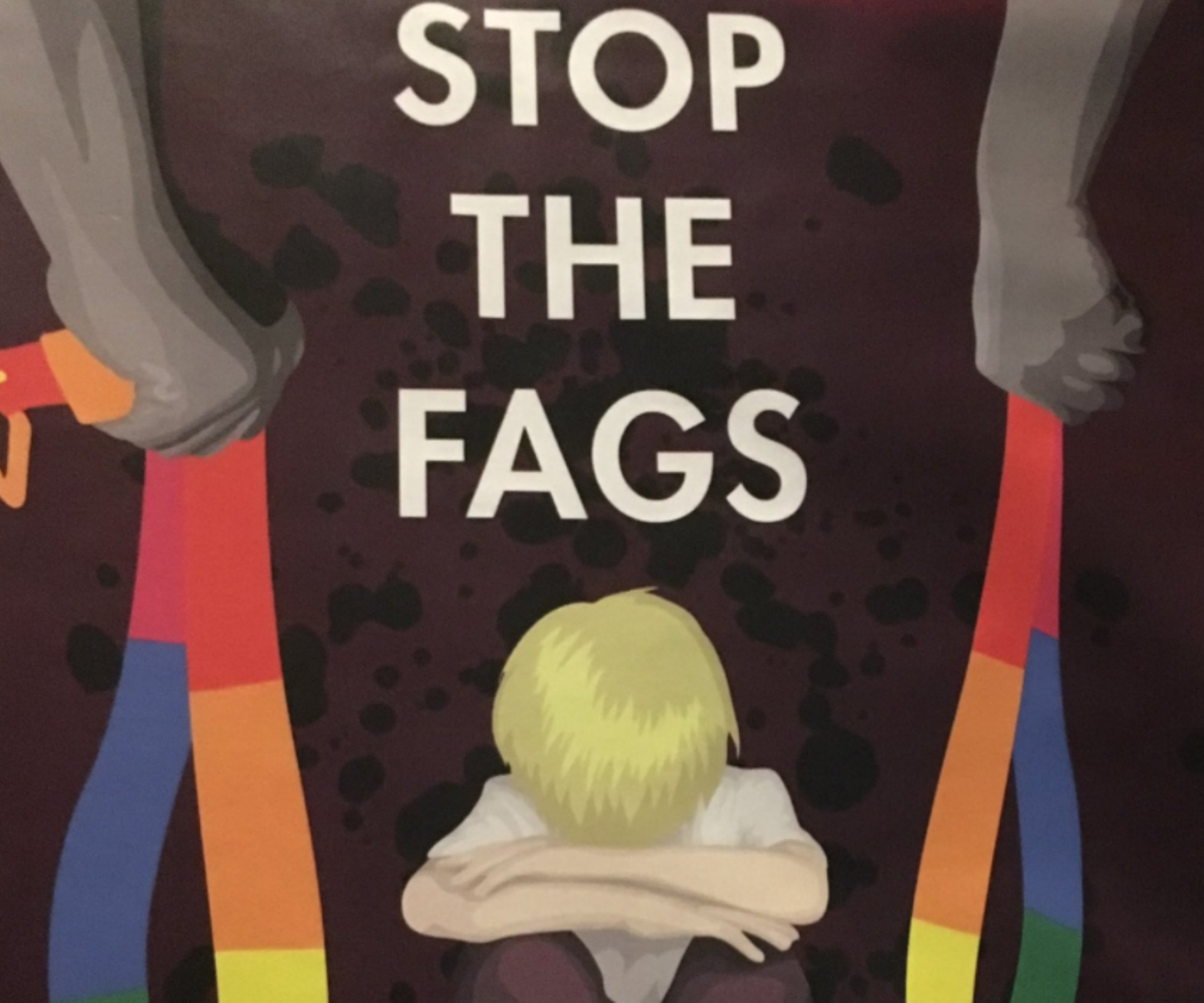 'Stop the f*gs': homophobic posters appear in Australia