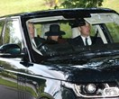 Uncle Andrew chauffeurs Prince William and Duchess Kate to church
