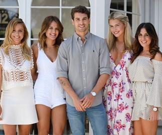 Matty J and The Bachelor Australia contestants