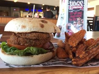 Hog's Breath Cafe has won coveted PETA vegan award