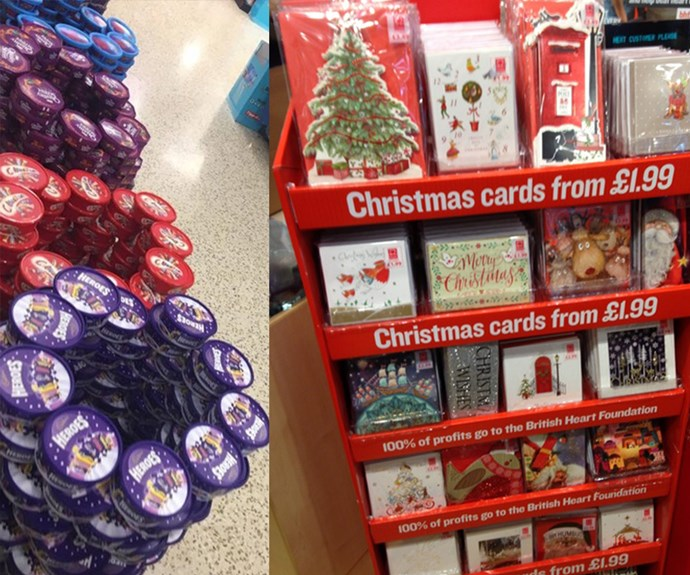 Mum fuming over early sale of Christmas cards is all of us