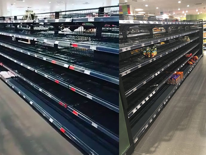 A supermarket in Germany has removed all imported groceries from shelves to highlight intolerance