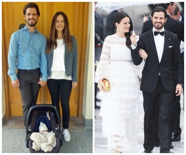 Prince Carl Philip and Princess Sofia of Sweden -- a.k.a the world's most genetically blessed royals -- have shared a photo of their newborn son, born Friday, September 1. The photo, which shows the beloved couple sweetly hold hands, was shared on social media as they left Danderyd Hospital for home -- Villa Solbacken.