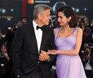 George and Amal Clooney are all loved up at 74th Annual Venice Film Festival