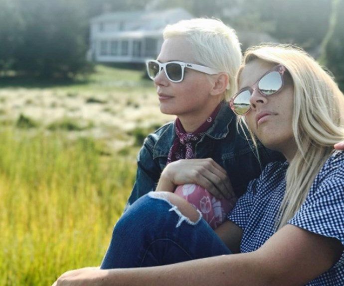Michelle Williams and Busy Phillipps