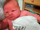 Woman gives birth to 12 lbs baby naturally