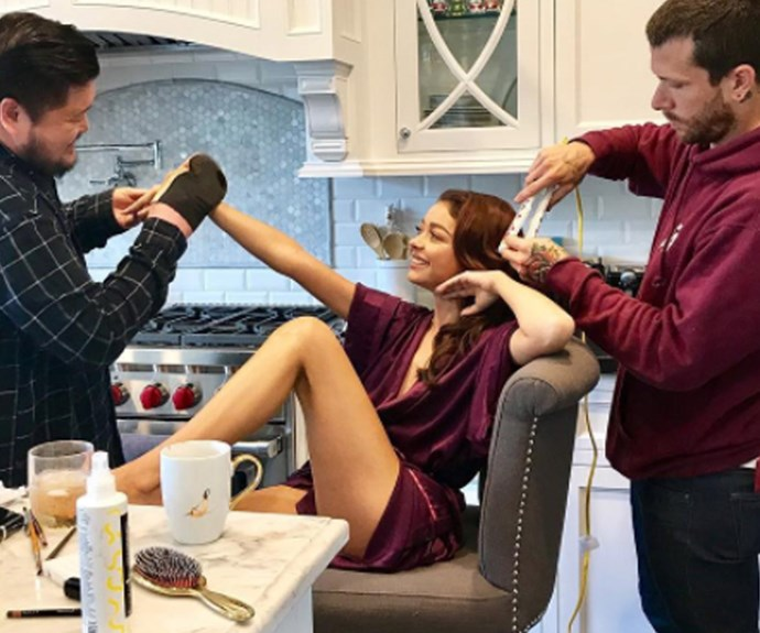 How the stars get ready for the Emmys