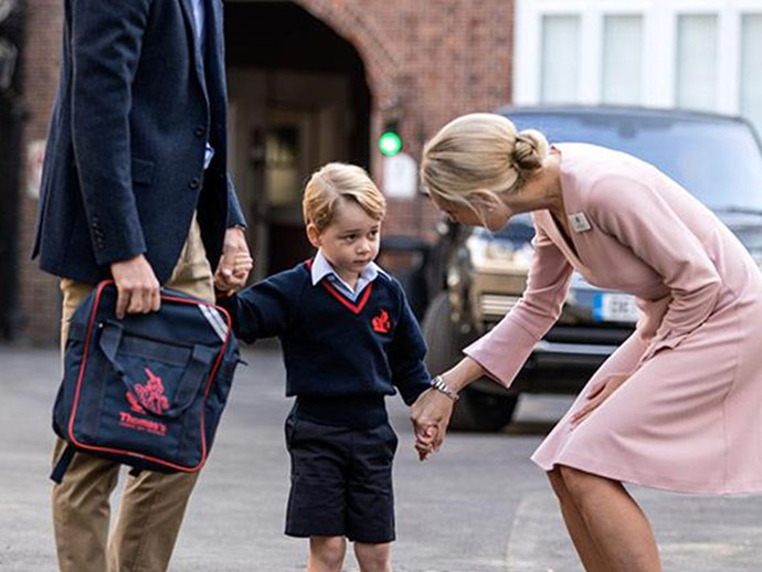 Looks like Prince George is a food influencer now