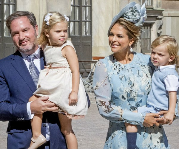Princess Madeleine, Christopher O'Neill, Prince Nicolas, Princess Leonore