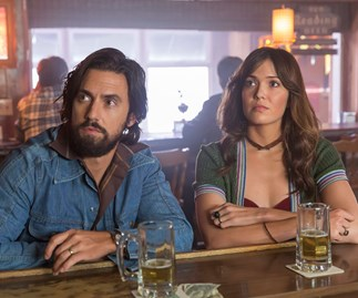 Milo Ventimiglia and Mandy Moore