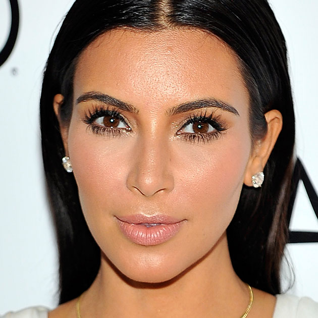 Kim Kardashian Cat Eye Tutorial