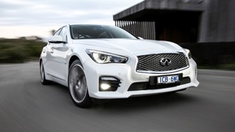 Infiniti Q50 review new Top Gear