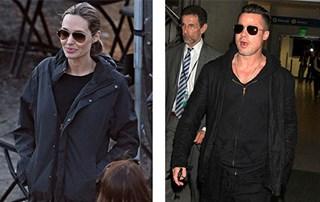 Angelina Jolie and Brad Pitt enjoy some alone time