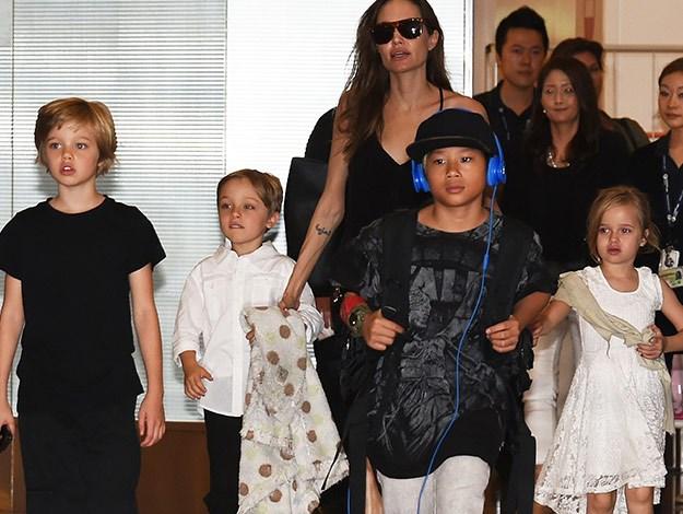 Angelina Jolie's kids ... Angelina Jolie Kids Grown Up