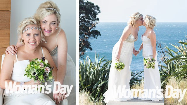 MKR's Carly and Tresne: Now we're hitched for real!
