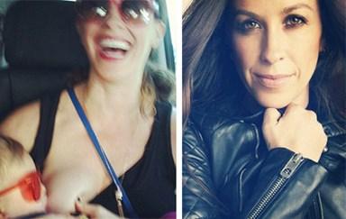 Alanis Morisette shares breastfeeding throwback snap!