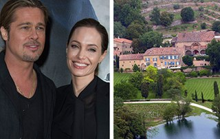 Brad Pitt and Angelina Jolie in pictures: all the wedding details