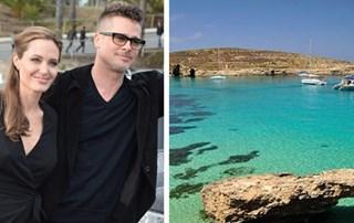 Brad Pitt and Angelina Jolie go on family honeymoon in Gozo