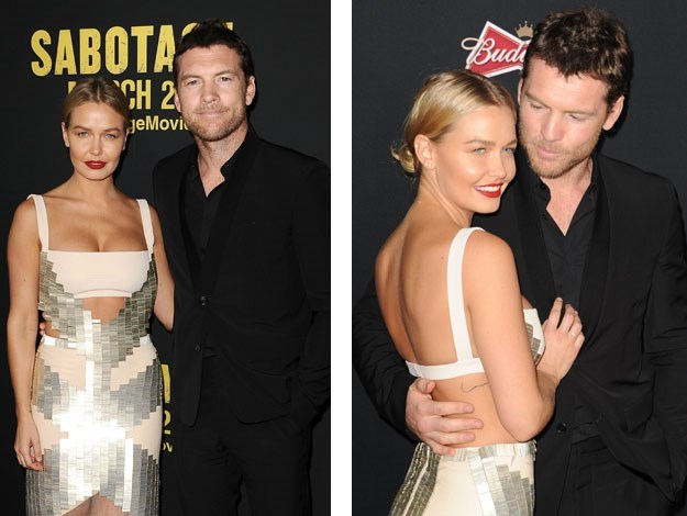 The pair hit the red carpet together!
