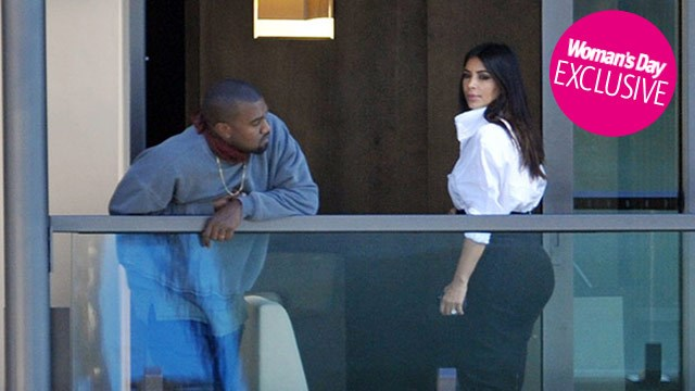 Kim 'worried' about Kanye following emergency hospital visit