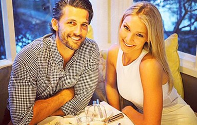 Tim Robards & Anna Heinrich flaunt their lasting Bachelor romance