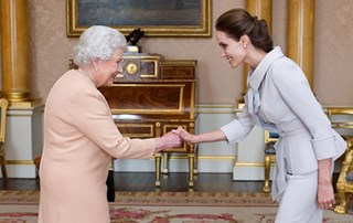 Angelina Jolie made Honorary Dame by the Queen