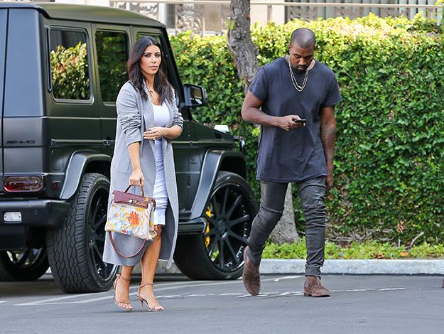 pink birkin bag price - Kim Kardashian steps out with Hermes bag hand painted by North ...