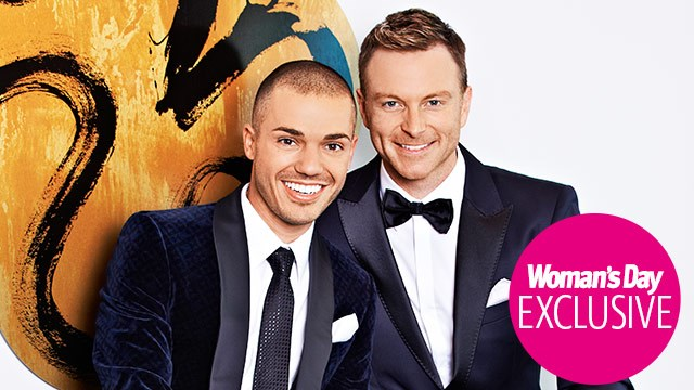 """Anthony Callea and Tim Campbell: """"Our double wedding joy!"""""""