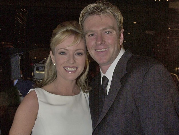 At the 2001 Logies, Rebecca debuted then boyfriend and now husband, Richard Bell.