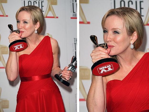 She was the 2009 TV Week Gold Logie winner!